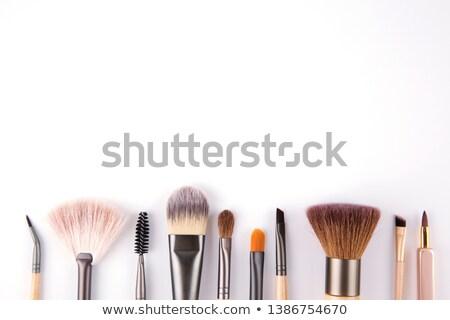 Kozmetik kahverengi beyaz yeşil Stok fotoğraf © zhekos
