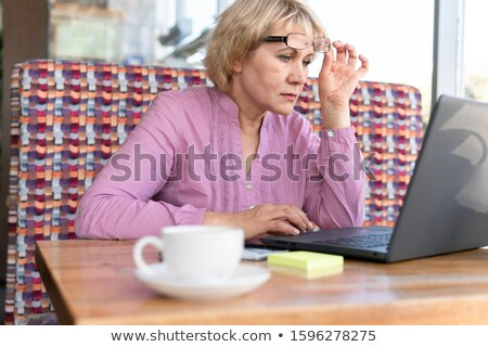 woman computer problems stock photo © smithore