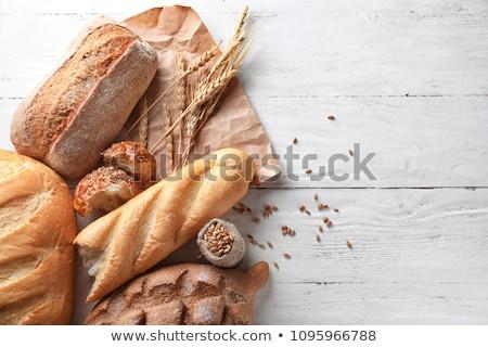хлебобулочные продукции изолированный белый продовольствие жира Сток-фото © HectorSnchz