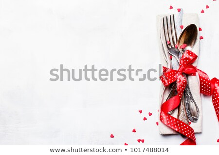 Foto stock: Served Banquet Table For A Festive