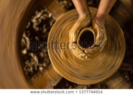 indiano · cerâmica · espera · viajar · Ásia - foto stock © ErickN