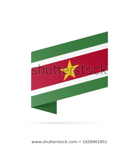 кнопки Суринам карта пейзаж флаг силуэта Сток-фото © Ustofre9