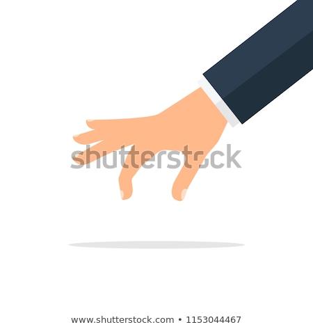 Cartoon Hand - Pinch - Vector Illustration Stock photo © indiwarm