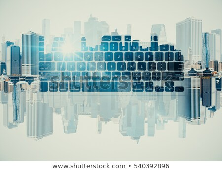 Keyboard with Web Development Button. Stock photo © tashatuvango