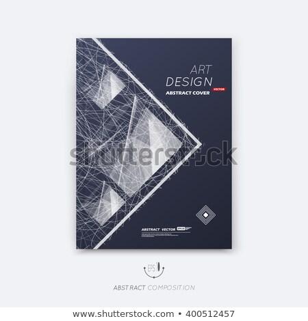vektör · yaratıcılık · inşaat · kare · soyut · dizayn - stok fotoğraf © ikatod