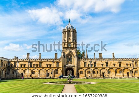 The spire of Christ Church Oxford University  Stock photo © Snapshot