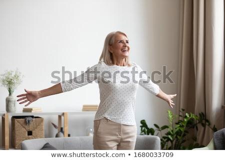 mujer · brazo · deportes - foto stock © iofoto