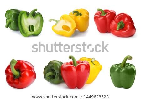 Stok fotoğraf: Olgun · sarı · yeşil · sebze · pazar
