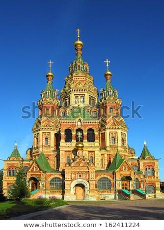 древних · русский · православный · Церкви · здании · дизайна - Сток-фото © mikko