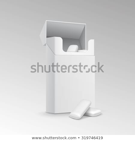 Gum in a box Stock photo © Stootsy