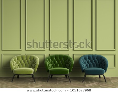 green interior scene Stock photo © arquiplay77
