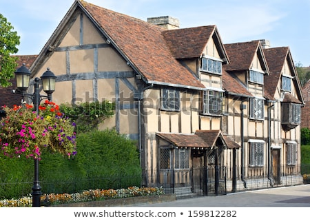 The William Shakespeares birthplace Stock photo © hanusst
