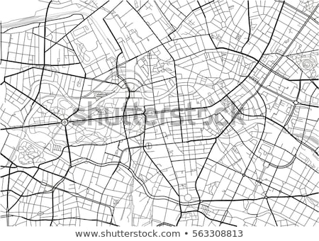 White map vector illustration Stock photo © smarques27