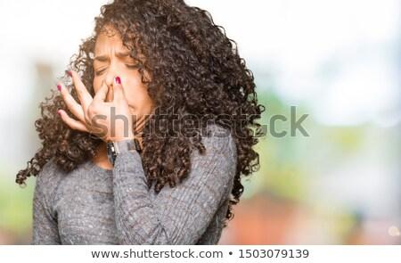 лице · плохо · старые · очки · глазах - Сток-фото © ichiosea