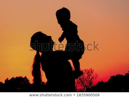 anne · bebek · kız · alan - stok fotoğraf © DNF-Style