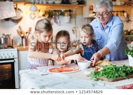 Stock photo: Cooking Italian