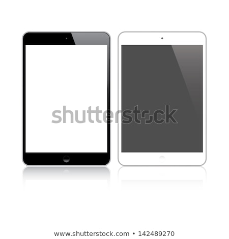 Highly detailed responsive small tablet vector Stock photo © MPFphotography