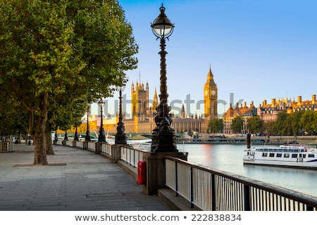 River Thames South Bank, London Stock photo © claudiodivizia