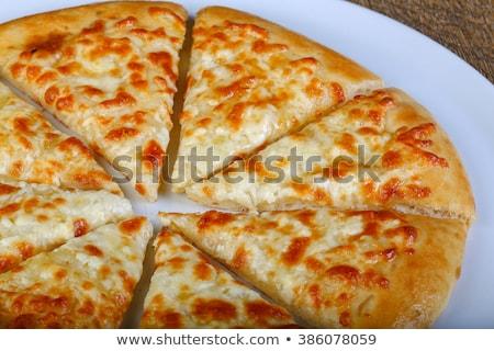 チーズ ガーリックブレッド 新鮮な 食品 ハーブ 食事 ストックフォト © saddako2