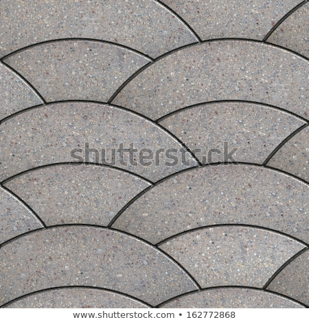 Grey Paving Slabs. Tileable Texture. Stock photo © tashatuvango