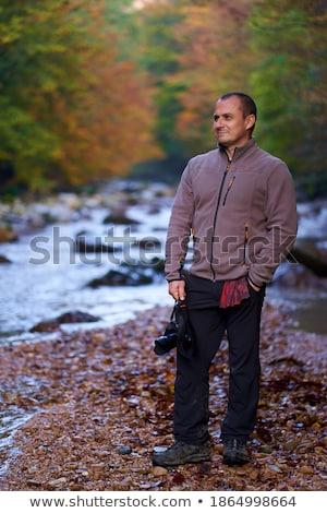 カメラマン · 若い男 · 空 - ストックフォト © Aitormmfoto