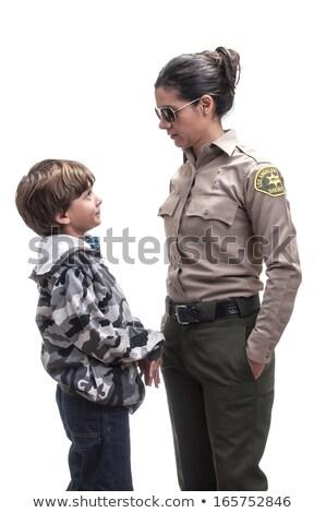 Jovem deputado xerife masculino Foto stock © JamiRae