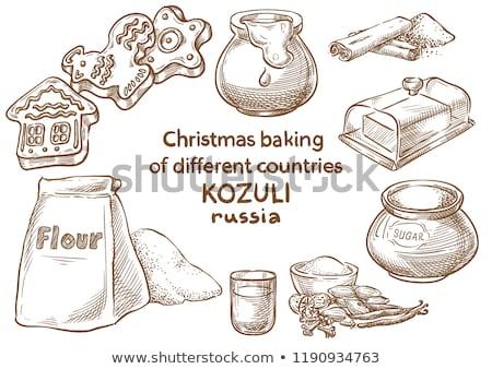 ロシア クリスマス ジンジャーブレッド 木製 近い 異教の ストックフォト © fanfo
