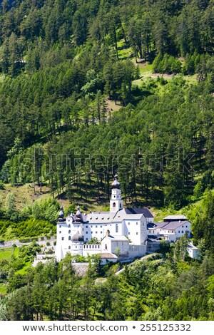 Monte Maria Abbey near Burgusio, Trentino-Alto Adige, Italy Stock photo © phbcz