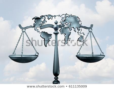 International Law and Justice Stock photo © dzejmsdin