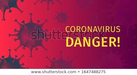 Diagnózis orvosi nyomtatott elmosódott szöveg piros Stock fotó © tashatuvango