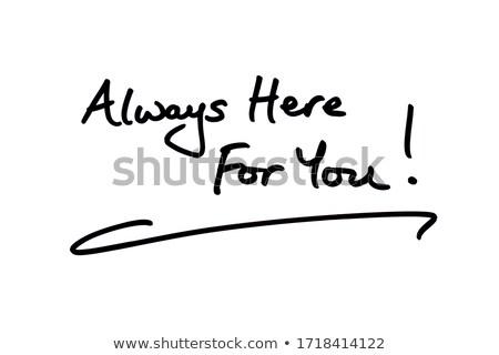текста часы аннотация время поддержки остановки Сток-фото © fuzzbones0