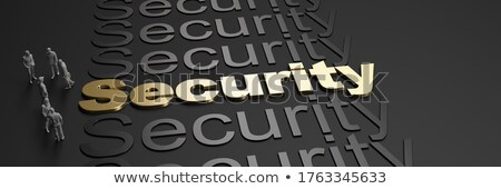 segura · palabra · electrónico · calculadora · tecnología · financiar - foto stock © fuzzbones0