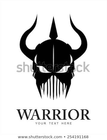 демон битва череп 3d визуализации войны смерти Сток-фото © AlienCat