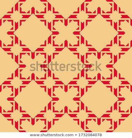 virágmintás · végtelenített · virágminta · keret · virágok · végtelen · minta - stock fotó © morphart