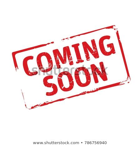 binnenkort · internet · ontwerp · web · reclame · verkoop - stockfoto © kiddaikiddee