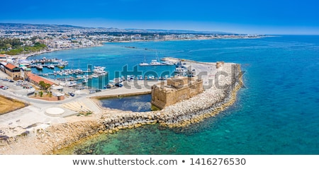 Paphos fort. Panoramic view. Cyprus Stock photo © Kirill_M