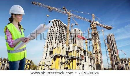 muchos · edificios · cielo · collage · oficina · nubes - foto stock © Paha_L
