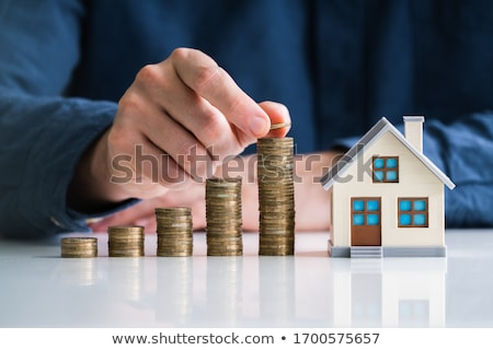 Stock photo: real estate, house