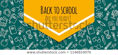 back to school background eps 10 stock photo © beholdereye