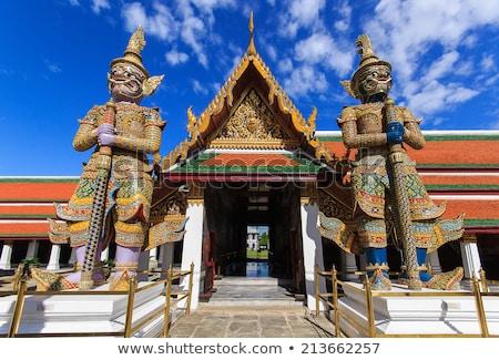 demon · Bangkok · standbeeld · reus · hemel · architectuur - stockfoto © mikko