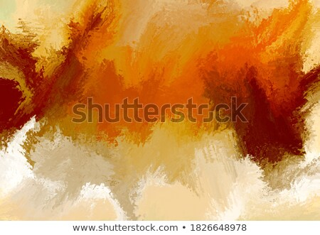 abstract background made with mixed orange brown shapes Stock photo © Melvin07