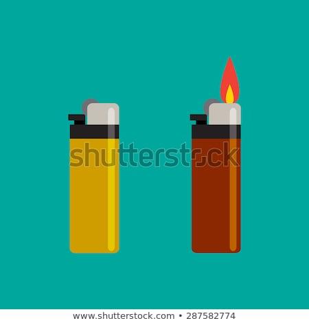 cigarette lighter gasoline of steel Stock photo © mayboro1964