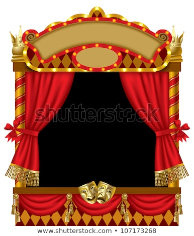 Puppet show and stage Stock photo © bluering