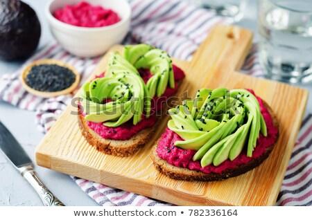 Vegan casse-croûte balle manger saine végétarien Photo stock © M-studio