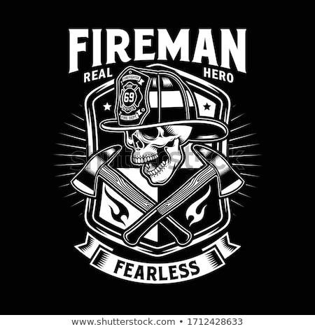 Fire helmet Stock photo © bluering
