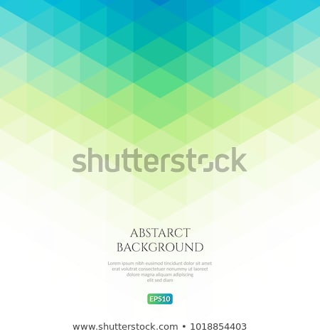 abstract blue green geometric background stock photo © saicle