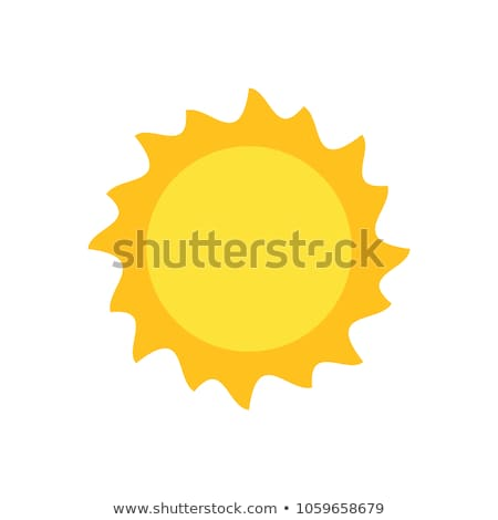 Circle buttons with a sunny weather Stock photo © bluering
