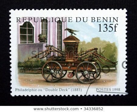 Stockfoto: Benin · trein · oude · spoorweg · stoom