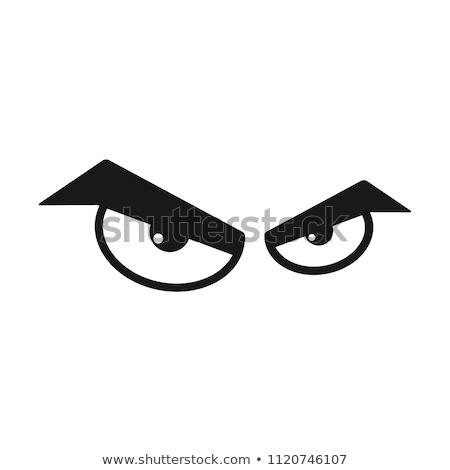сердиться глазах свободный стороны таблетка рисунок Сток-фото © HypnoCreative