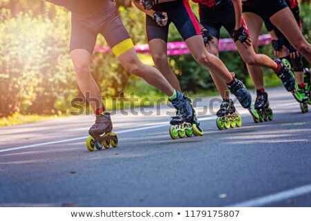 inline skater stock photo © phbcz